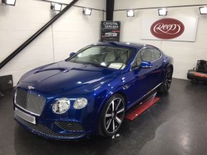 Bentley Continental GT, Gtechniq