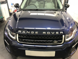 Land Rover Paint Protection