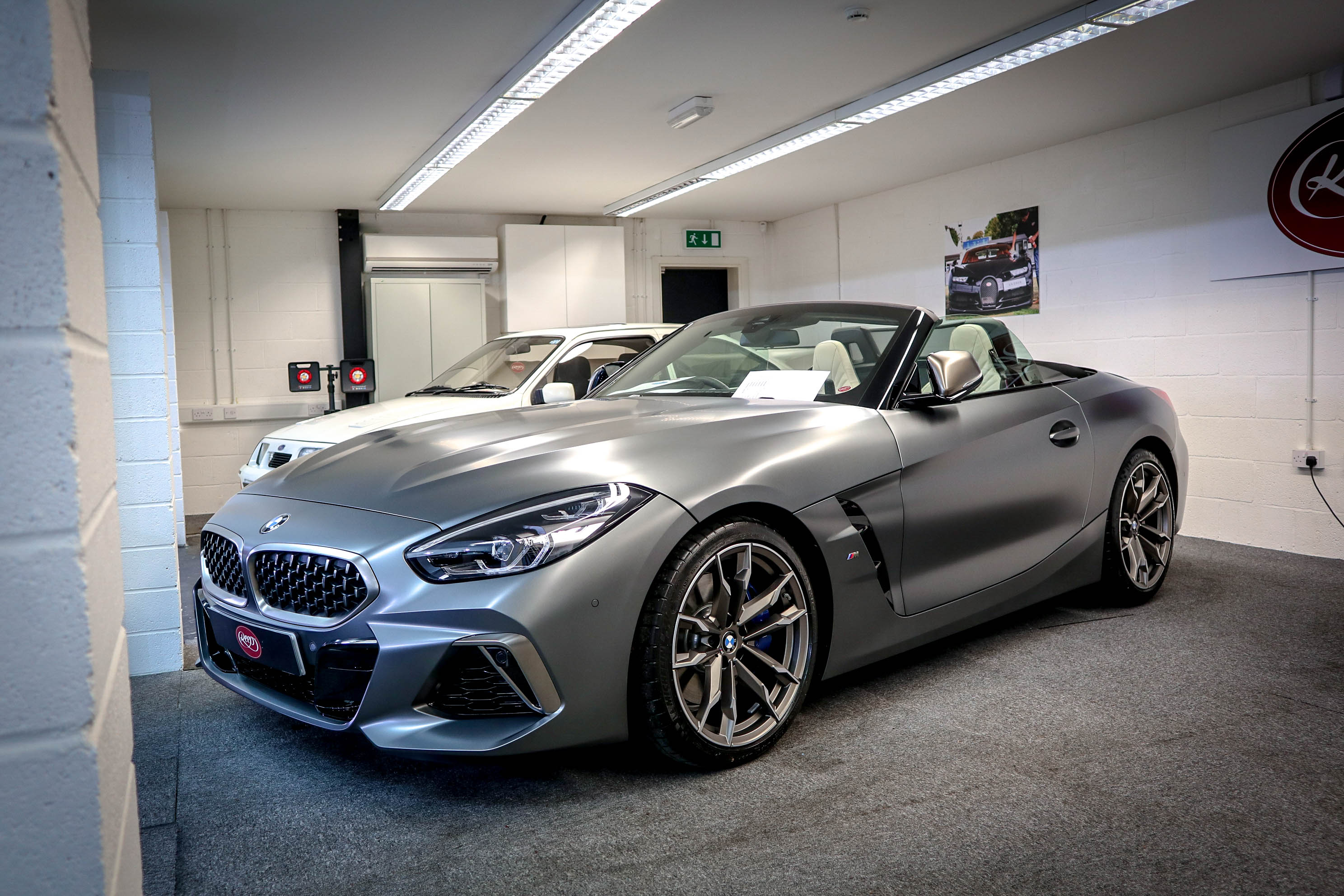 Facelift Bmw Z4 Frozen Grey Full Body Ppf Kit Reep Yorkshire